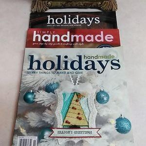 3--Wonderful Holiday Craft Books